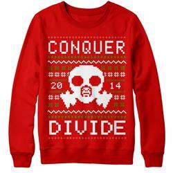 Gasmask Holiday Sweater