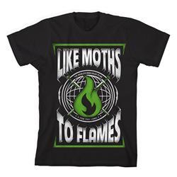 Green Flame Black *Clearance*