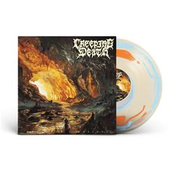 Wretched Illusions Creme/Blue/Orange Splatter