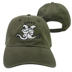 Ghost Olive Green Dad Hat