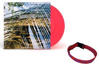 Dogs On Acid Opaque Red Vinyl + Dog Collar