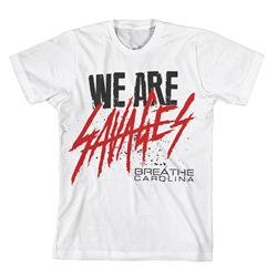 We Are Savages White T-Shirt