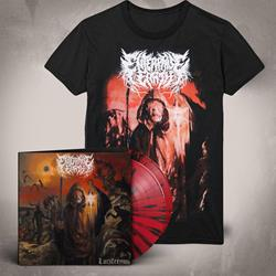 Luciferous LP + Album Art T-Shirt
