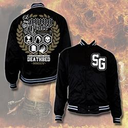 The Urgency Black Baseball Jacket