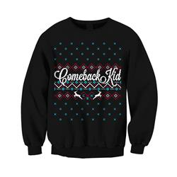 Holiday Black Crewneck