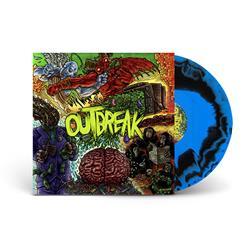 Self-Titled Black/Blue Swirl LP