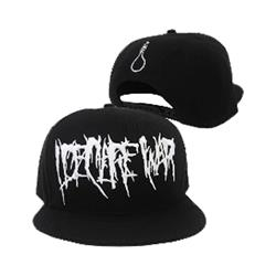 Rope Black Snapback Hat