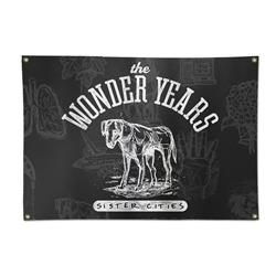 Sister Cities Dog Custom Wall Flag 40X20