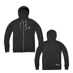 Simple Logo Eco Black  Hoodie