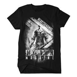 My Own Machine Art Black T-Shirt