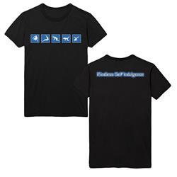 Blue Breakdancers