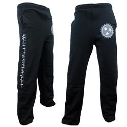 Strike Through Black Sweatpants
