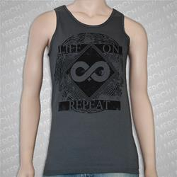 Infinity Plus Charcoal Tank Top
