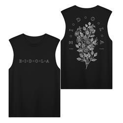 Flora Sleeveless Black
