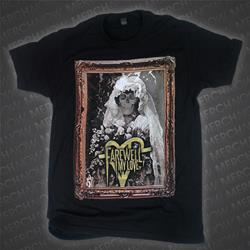 Skull Portrait Black T-Shirt