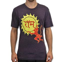 Mantralogy Hanuman Sun Vintage Purple