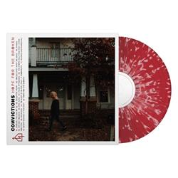 Hope For The Broken Red w/ Cream Splatter