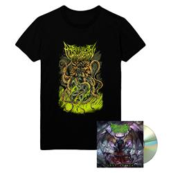 Left To Die CD + Octopus T-Shirt