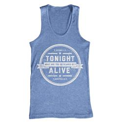 Crest Athletic Blue Tank Top