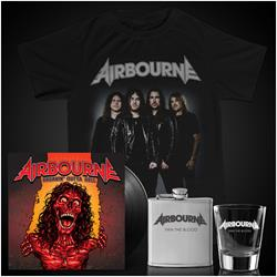 Breakin' Outta Hell LP/Tee/Flask/Shot Glass