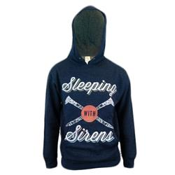 Nails Heather Navy Hooded
