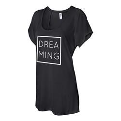 Dreaming Black Flowy