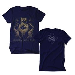 Absent Light Navy T-Shirt