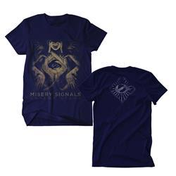 Absent Light Navy T-Shirt