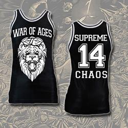 Lion Black Basketball Jersey