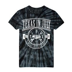 Draw The Line Black Tie Dye *SALE*