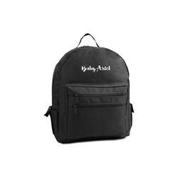 Logo Black Backpack