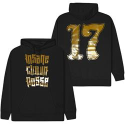 Stacked Logo Gold Foil Black