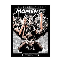 Holding These Moments  Beige 18X24 Screen Printed