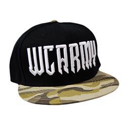 Logo Black Snapback Hat