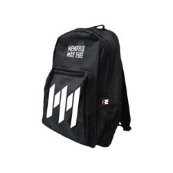 Logo Black Back Pack