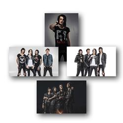 Born To Burn 11X17 Poster Set (Set Of 4)
