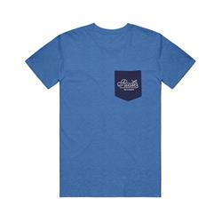 Script Label Merchandise Royal Blue W/ Navy