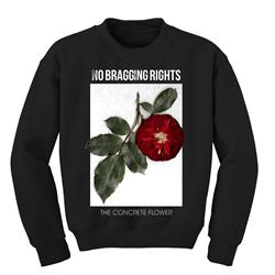 *Limited Stock* The Concrete Flower Black Crewneck Sweatshirt
