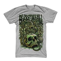 Skull Snake Heather Gray