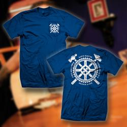 Get Hammered Royal Blue Pocket T-Shirt