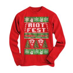 Ugly Xmas Red Holiday Sweater
