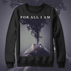 Album Art Black Crewneck Sweatshirt