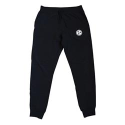 Embroidered Blade Black Jogger