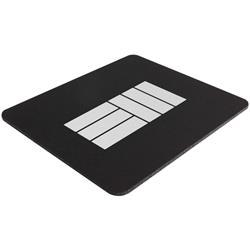 EM Logo Black Mousepad