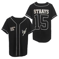*Limited Stock* Strays 15 Black Baseball