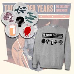 The Wonder Years Crewneck+7inch