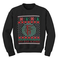 Fit For A King - Xmas Black Crewneck Small