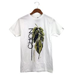 Leaf Drip White T-Shirt