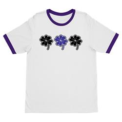 Clover White/Purple