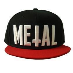 METAL Black/Red Snapback